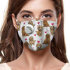 Goldendoodle Cute F-Mask V1