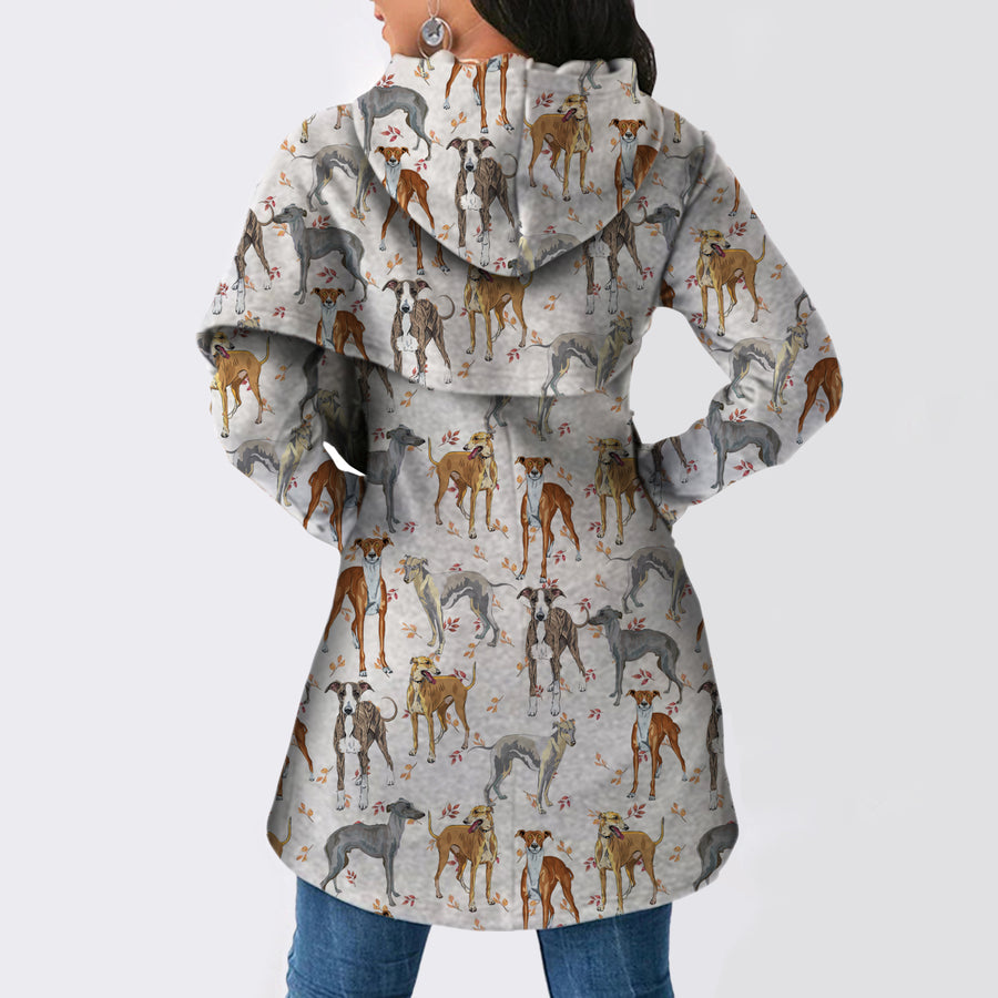 Greyhound - Fashion Long Hoodie V1