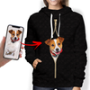 I'm With You - Personalized Hoodie With Your Pet's Photo