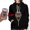 I'm With You - Personalized Hoodie With Your Pet's Photo V2