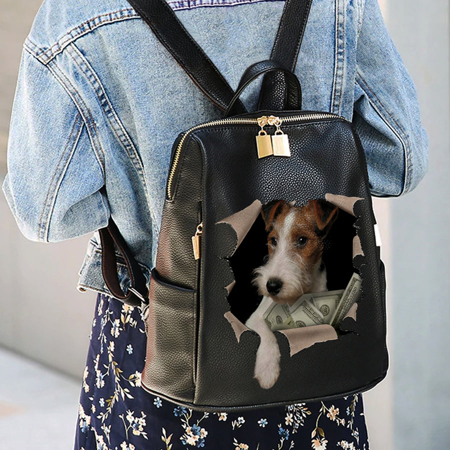It's All Mine - Wire Fox Terrier Backpack V1