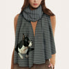 Keep You Warm - Boston Terrier - Scarf V1