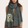Keep You Warm - West Highland White Terrier - Scarf V1