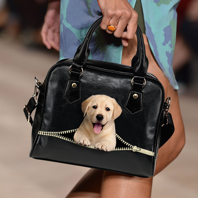 Labrador Retriever Shoulder Handbag V1