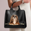 Lhasa Apso Luxury Handbag V1