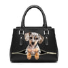 Love Your Dapple Dachshund - Fashion Handbag V1