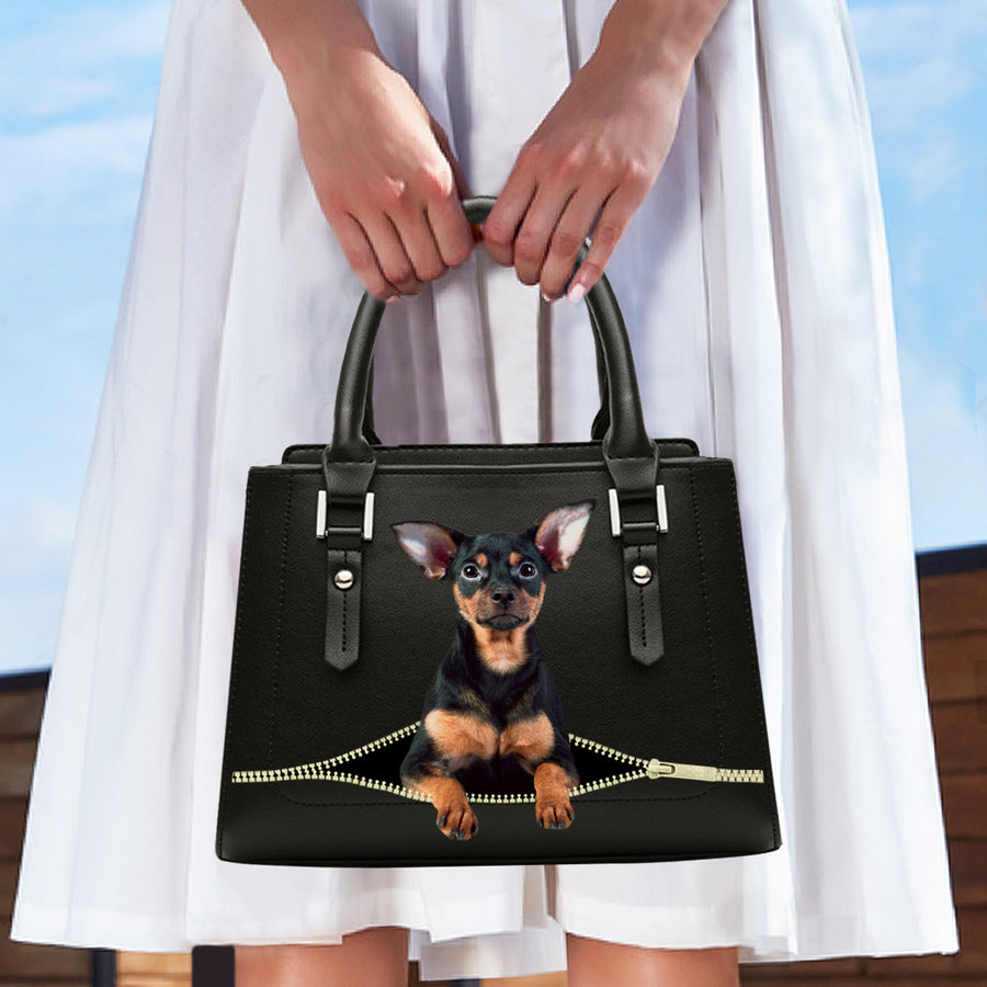 Love Your English Toy Terrier - Fashion Handtas V1