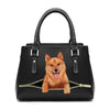 Love Your Finnish Spitz - Fashion Handbag V1
