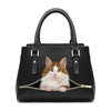 Love Your Norwegian Forest Cat - Fashion Handbag V1