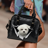 Maltese Shoulder Handbag V1