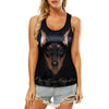 Miniature Pinscher - Hollow Tank Top V1