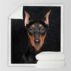Miniature Pinscher Blanket V1