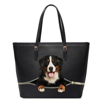 Bernese Mountain Tote Bag V1