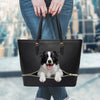 Border Collie Tote Bag V1