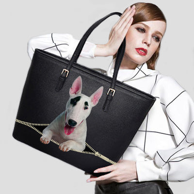 Bull Terrier Tote Bag V1