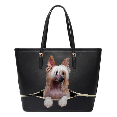 Chinese Crested Tote Bag V1