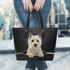 West Highland White Terrier Tote Bag V1
