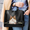 Norwegian Forest Cat Luxury Handbag V1