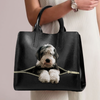 Old English Sheepdog Luxury Handbag V1