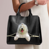 Old English Sheepdog Luxury Handbag V2