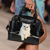 Persian Cat Shoulder Handbag V2