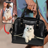 Go Out Together - Personalized Shoulder Handbag With Your Pet's Photo V1-P