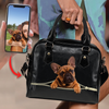 Go Out Together - Personalized Shoulder Handbag With Your Pet's Photo V1-F