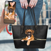 Go Out Together - Personalized Tote Bag With Your Pet's Photo V1-B