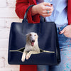 Reduce Stress At Work With Borzoi - Luxury Handbag V1
