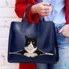 Reduce Stress At Work With British Shorthair Cat - Luxury Handbag V2