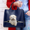 Reduce Stress At Work With Coton De Tulear - Luxury Handbag V1