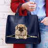 Reduce Stress At Work With Tibetan Spaniel - Luxury Handbag V1