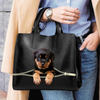 Rottweiler Luxury Handbag V1