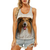 Rough Collie - Hollow Tank Top V1