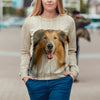 Rough Collie Sweatshirt V1