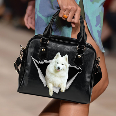 Samoyed Shoulder Handbag