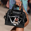 Schnauzer Shoulder Handbag V1