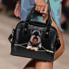 Schnauzer Shoulder Handbag V2