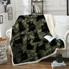 Scottish Terrier Camo Blanket V1