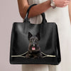 Scottish Terrier Luxury Handbag V1