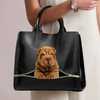 Shar Pei Luxury Handbag V1