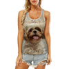 Shih Tzu - Hollow Tank Top V1
