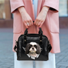 Shih Tzu Shoulder Handbag V1