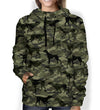 Street Style With English Pointer Camo Hoodie V1