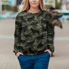 Street Style With German Shepherd Camo Sweatshirt V1