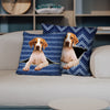 They Steal Your Couch - English Pointer Pillow Cases V1 (Set of 2)