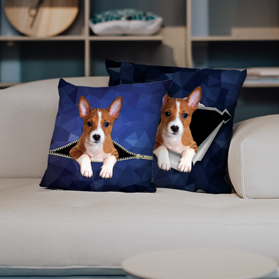 They Steal Your Couch - Basenji Pillow Cases V1 (Set of 2)