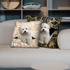 They Steal Your Couch - Coton De Tulear Pillow Cases V1 (Set of 2)