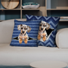 They Steal Your Couch - Dapple Dachshund Pillow Cases V1 (Set of 2)