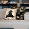 They Steal Your Couch - Flat Coated Retriever Pillow Cases V1 (Set of 2)